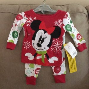Brand New Baby Girl Christmas 🎄 Disney PJs